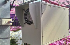 The weather-box can be placed inside two sets of temperature and humidity detector, an need to connect to external 110V AC power